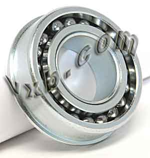 "F1638 Unground Flanged 1/2"" bore:Full Complement:vxb:Ball Bearing"