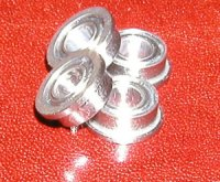 10 SLOT CAR Flanged Bearing 3x6x2.5 Shielded:vxb:Ball Bearings