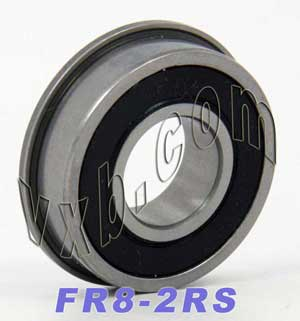 Flanged Bearing FR8-2RS 1/2