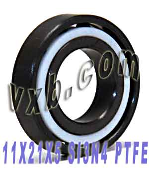 Full Ceramic Silicon Nitride Bearing 11x21x5:vxb:Ball Bearing