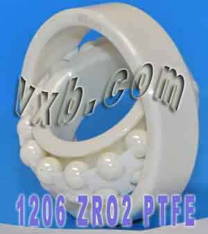 1206 Full Ceramic Self Aligning Bearing 30x62x16:vxb:Ball Bearing