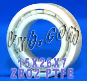 Full Ceramic Bearing 15x26x7 ZrO2:vxb:Ball Bearings