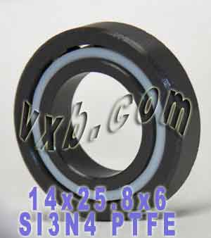 14x25.8x6 Full Ceramic Bearing Silicon Nitride:vxb:Ball Bearing