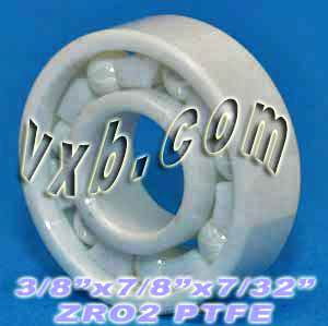 "R6 Full Ceramic Bearing 3/8""x7/8""x9/32"":vxb:Ball Bearings"