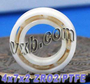 Full Ceramic Bearing 4x7x2 ZrO2:vxb:Ball Bearings