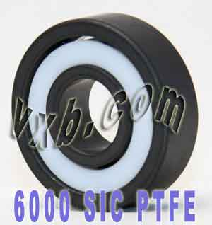 6000 Full Ceramic Bearing Silicon Carbide 10x26x8:vxb:Ball Bearing