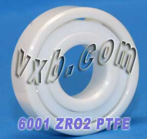 6001 Full Ceramic Bearing 12x28x8:vxb:Ball Bearings