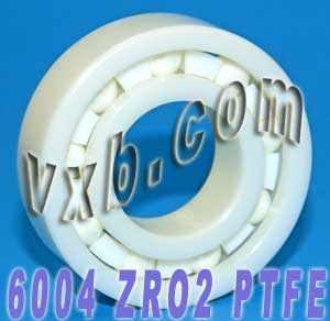 6004 Full Ceramic Bearing 20x42x12 ZrO2:vxb:Ball Bearings