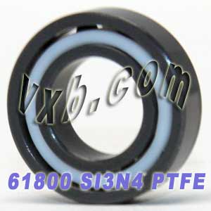 61800 Full Ceramic Bearing 10x19x5 Si3N4/PTFE:vxb:Ball Bearing