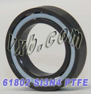 61802 Full Ceramic Bearing 15x24x5 Si3N4/PTFE:vxb:Ball Bearing