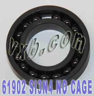 61902 Full Complement Ceramic Bearing 15x28x7 Si3N4:vxb:Ball Bearing