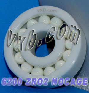 6200 Full Complement Ceramic Bearing 10x30x9:vxb:Ball Bearing