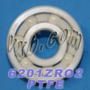 6201 Full Ceramic Bearing 12x32x10:vxb:Ball Bearings