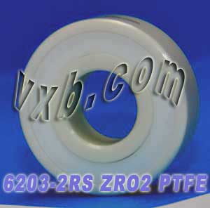 6203-2RS Full Ceramic Sealed Bearing 17x40x12 ZrO2:vxb:Ball Bearing