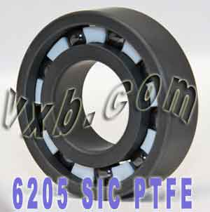6205 Full Ceramic Bearing 25x52x15 Silicon Carbide:vxb:Ball Bearing