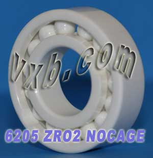 6205 Full Complement Ceramic Bearing 25x52x15:vxb:Ball Bearing