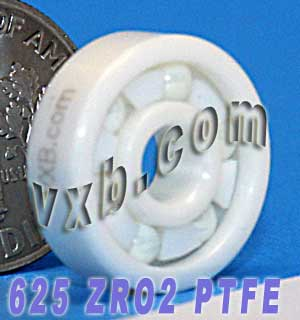 Full Ceramic Skate Bearing 625 5x16x5:vxb:Ball Bearings