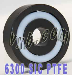 6300 Full Ceramic Silicon Carbide Bearing 10x35x11:vxb:Ball Bearing