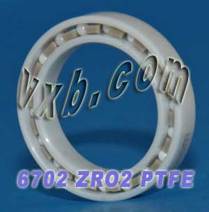 6702 Full Ceramic Bearing 15x21x4:vxb:Ball Bearing
