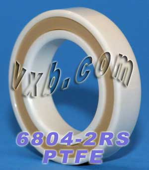 6804-2RS Full Ceramic Sealed Bearing 20x32x7 ZrO2:vxb:Ball Bearing