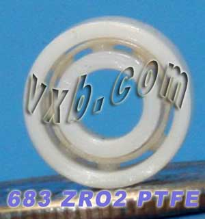 683 Full Ceramic Bearing 3x7x3:vxb:Ball Bearing
