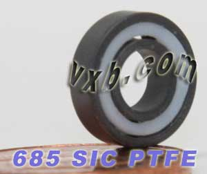 685 Full Ceramic Bearing 5x11x3 Silicon Carbide:vxb:Ball Bearing