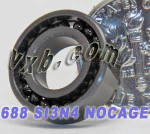 688 Full Complement Ceramic Bearing 8x16x5 Si3N4:vxb:Ball Bearing