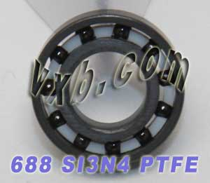 8x16 Full Ceramic 688 Bearing 8x16x5 Silicon Nitride:vxb:Ball Bearing