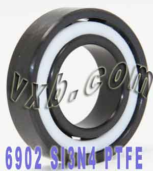 6902 Full Ceramic Silicon Nitride Bearing 15x28x7:vxb:Ball Bearing