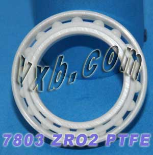 7803 Angular Contact Full Ceramic Bearing 17x26x5:vxb:Ball Bearing