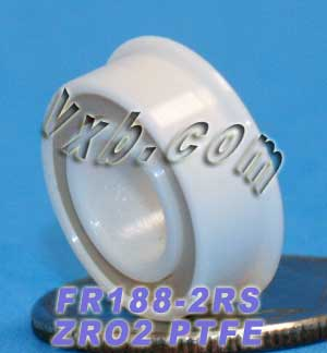"Full Ceramic Sealed Bearing 1/4""x1/2""x3/16"" ZrO2:vxb:Ball Bearing"