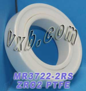 3722-2RS Full Ceramic Sealed Bearing 22x37x9 ZrO2:vxb:Ball Bearing