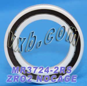 Full Ceramic Sealed Bearing 24x37x7 ZrO2:vxb:Ball Bearing