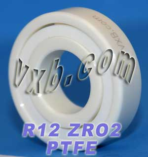 "R12 Full Ceramic Bearing 3/4""x1 5/8""x7/16"":vxb:Ball Bearing"