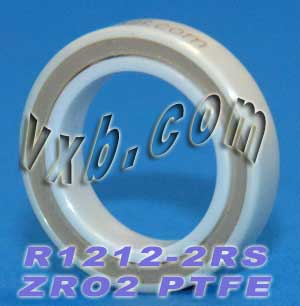 "R1212-2RS Full Ceramic Bearing 1/2""x3/4""x5/32"":vxb:Ball Bearing"