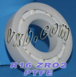 "R16 Full Ceramic Bearing 1""x2""x1/2"":vxb:Ball Bearing"