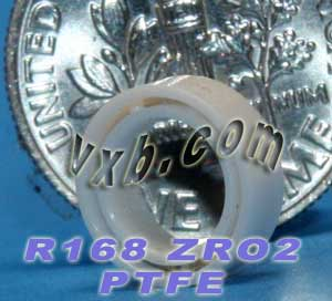 "R168 Full Ceramic Bearing 1/4""x3/8""x1/8"":vxb:Ball Bearing"