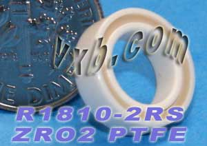 R1810-2RS Full Ceramic Sealed Bearing 5/16