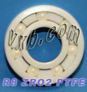 "R8 Full Ceramic Bearing 1/2""x1 1/8""x1/4"" inch:vxb:Ball Bearings"
