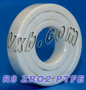 "R8 Full Ceramic Bearing 1/2""x1 1/8""x1/4"" inch:vxb:Ball Bearing"