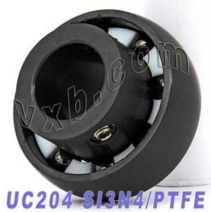 UC204 20mm Full Ceramic Mounted Bearing SI3N4:vxb:Ball Bearing