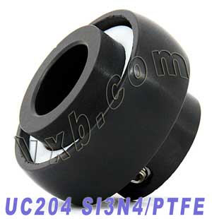 UC204 20mm Full Ceramic Mounted Bearing SI3N4:vxb:Ball Bearings