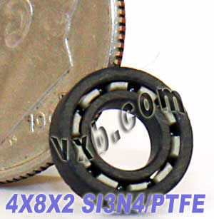 Full Ceramic Bearing 4x8x2 Silicon Nitride:vxb:Ball Bearing