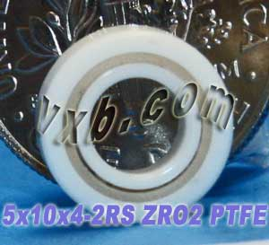 Full Ceramic Sealed Bearing 5x10x4 ZrO2:vxb:Ball Bearing