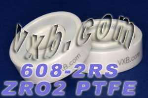 Full Ceramic Sealed Skate Bearing 608-2RS 8x22x7:vxb:Ball Bearing