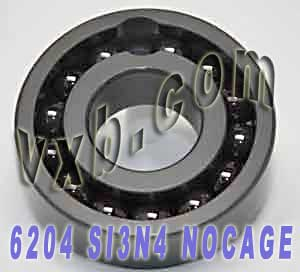 6204 Full Complement Ceramic Bearing 20x47x14 Si3N4:vxb:Ball Bearing