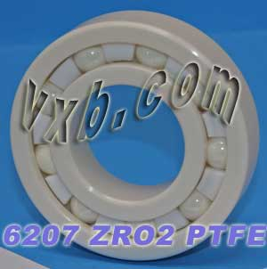 6207 Full Ceramic Bearing 35x72x17:vxb:Ball Bearings