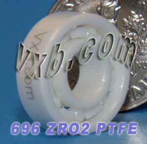 696 Full Ceramic Bearing 6x15x5:vxb:Ball Bearing