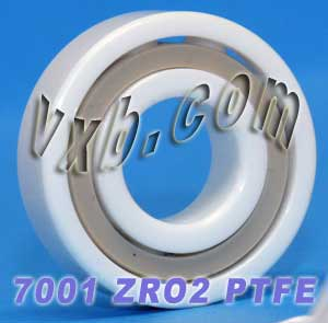 7001 Angular Contact Full Ceramic Bearing 12x28x8:vxb:Ball Bearing