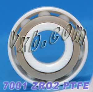 7001 Angular Contact Full Ceramic Bearing 12x28x8:vxb:Ball Bearings